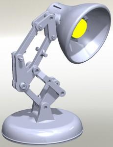 Örnek Masa Lambası Montajı; Pixar Luxo